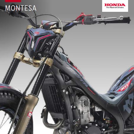 2020 Montesa range