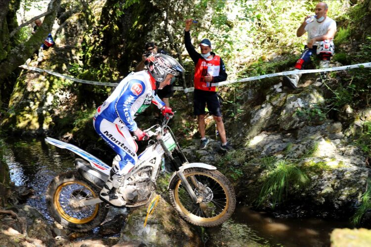 Dos podios para Montesa tras reemprender el Nacional de Trial en León