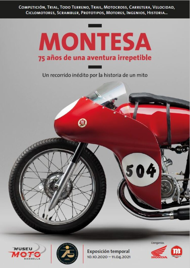 The Museu de la Moto de Bassella hosts the most unique and complete exhibition of the Montesa's history