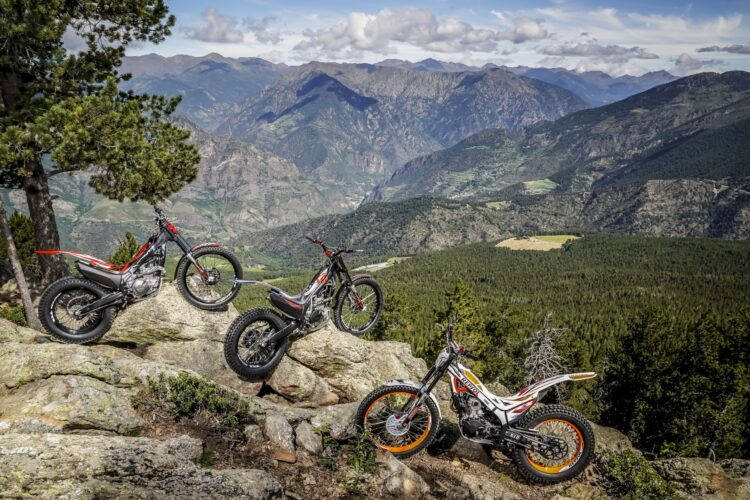 2022 Montesa motorcycle line-up