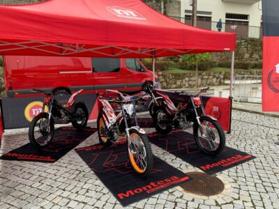 New 2022 Montesa motorcycles presented at Portugal TrialGP & Trial des Nations 2021