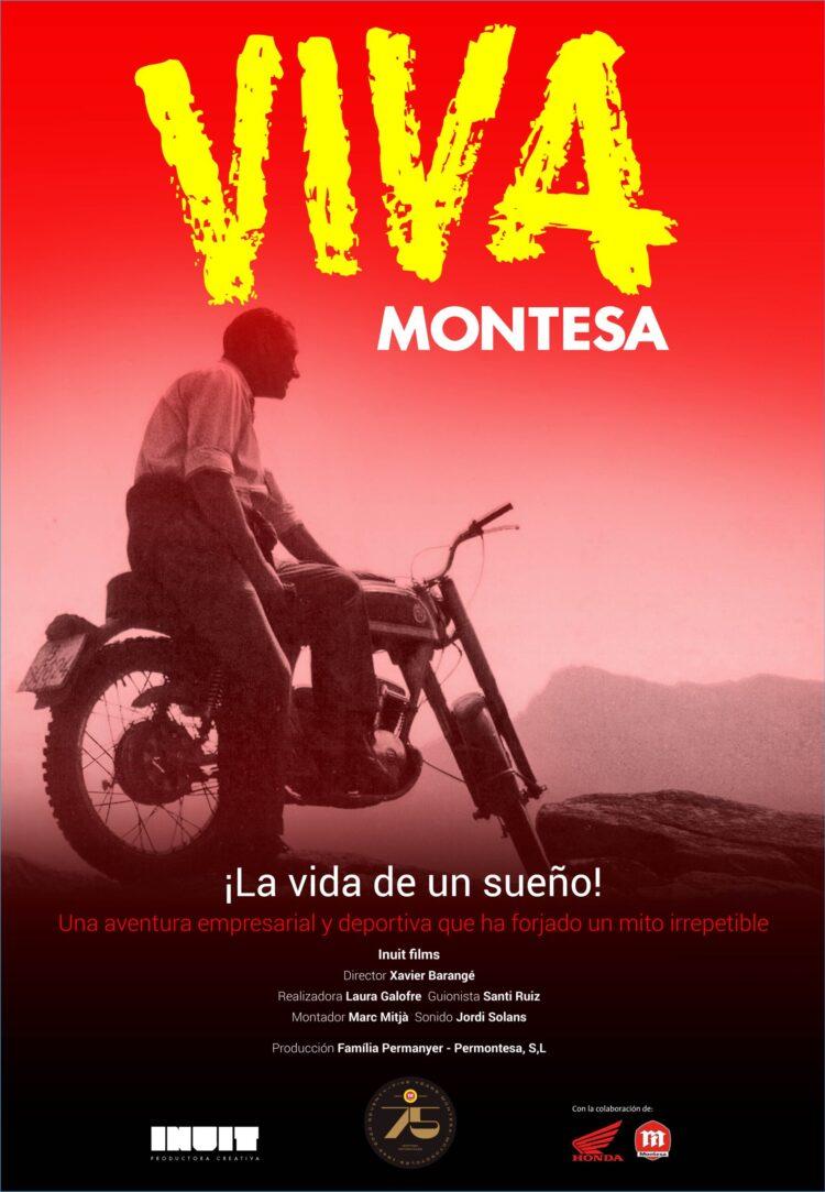 "Montesa's emotional documentary ""VIVA MONTESA"" is coming to be big screen"